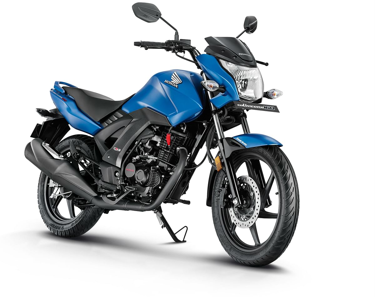 Honda launched the 2017 CB Unicorn160 at Rs 73,552