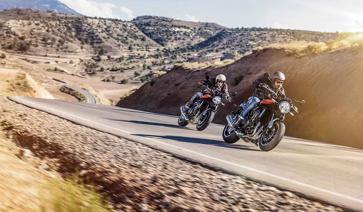 Bijoy Kumar's blog: Kawasaki Z900RS is a perfect bike for a perfect motorcycling setting