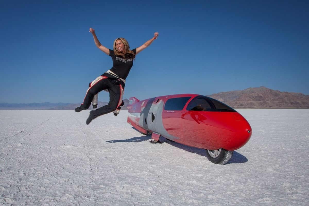 Meet the World's Fastest Female Motorcycle Racer