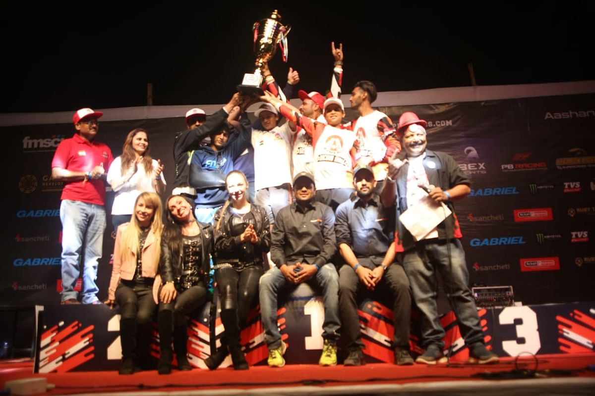 Ajmera Racing win 2019 Pune Supercross