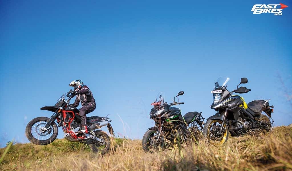 Mid-weight ADV Shootout: Superdual vs Versys 650 vs V-Strom 650 XT