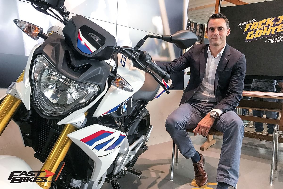 In conversation with BMW Motorrad's Sales and Marketing head – Timo Resch