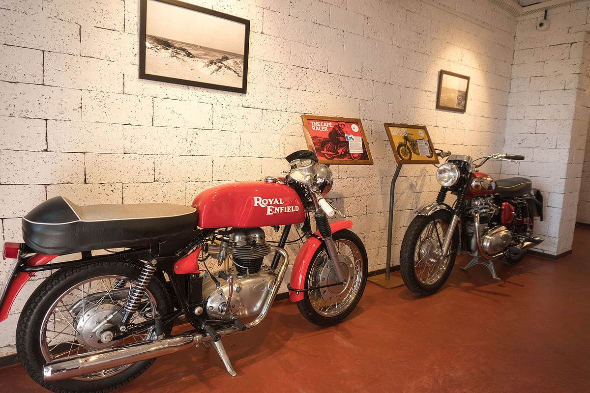 Royal Enfield opens Garage Café in Goa