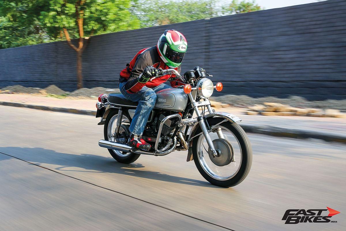 Escorts Yamaha RD350, India's first performance bike