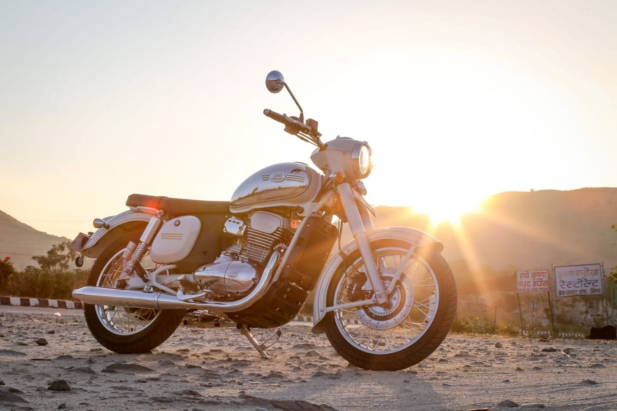 Jawa bikes get rear disc brake and dual channel ABS