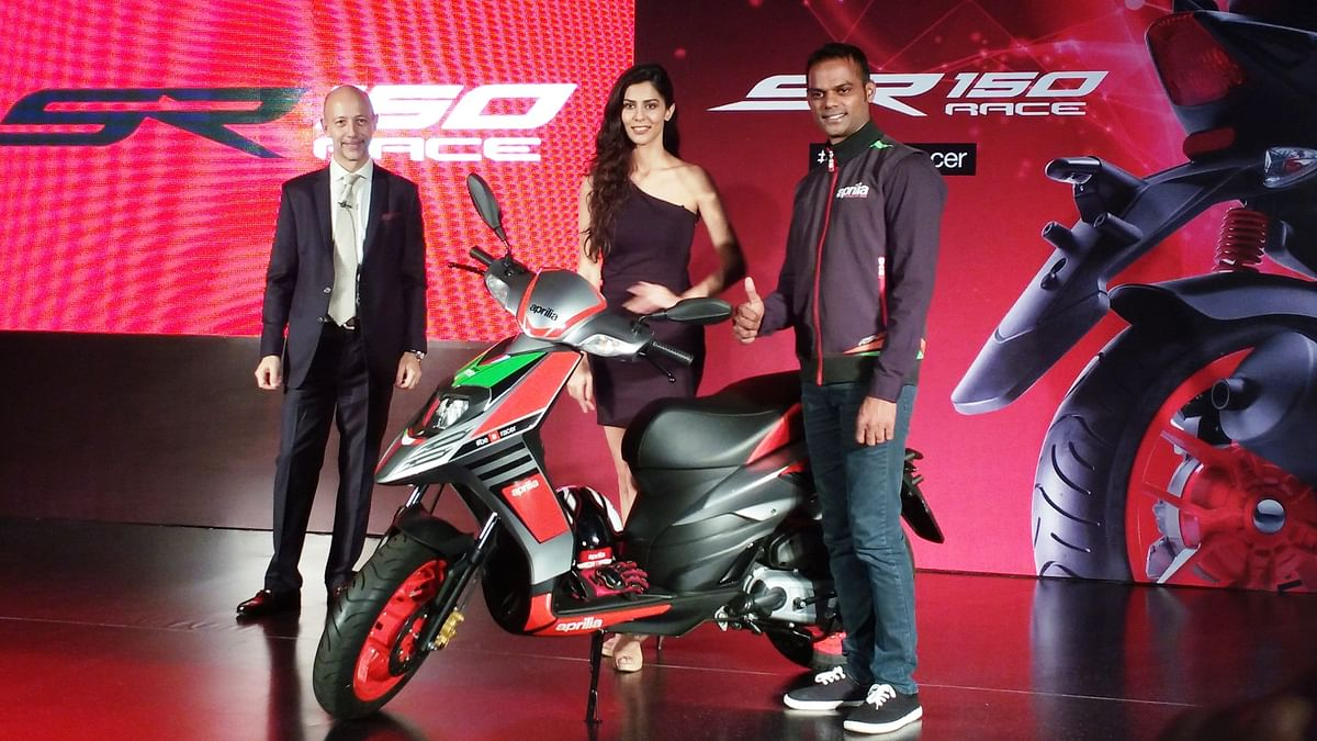 Aprilia launches the SR 150 Race