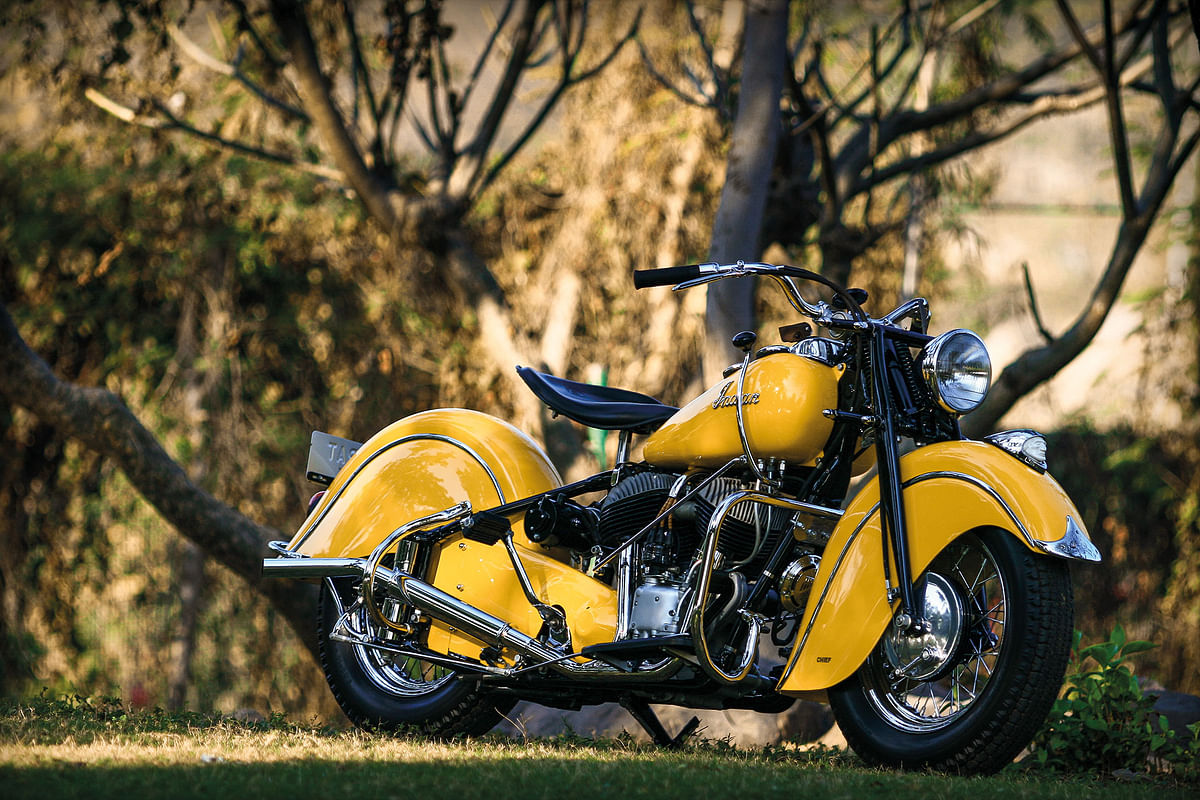 Get to know the 1947 Indian Chief Sportsman – Winner 2017 Cartier