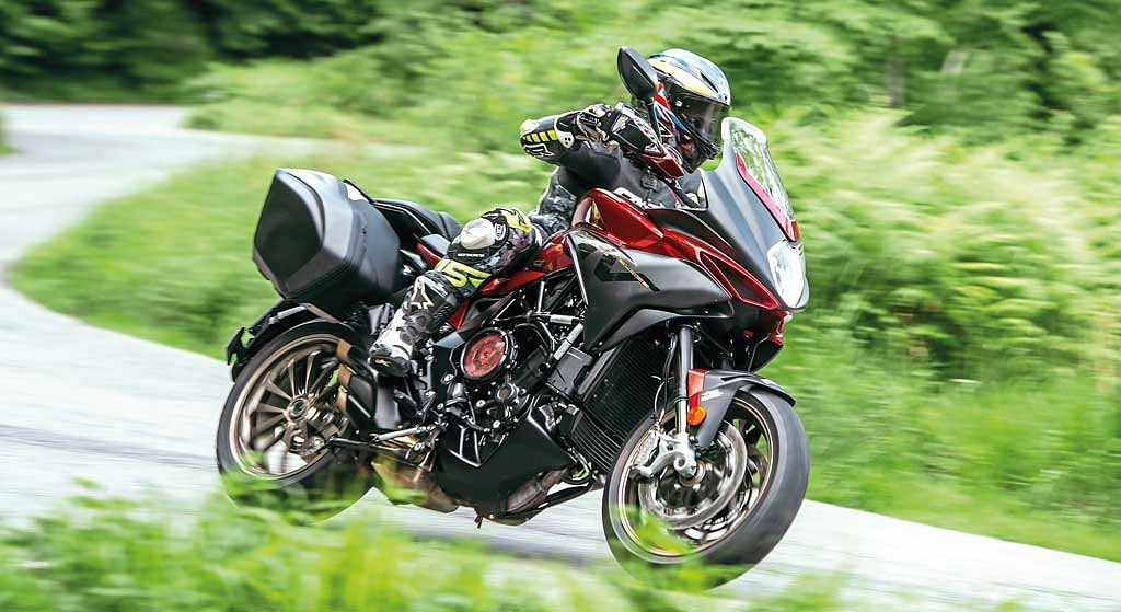 Test ride review: MV Agusta Turismo Veloce 800 Lusso SCS