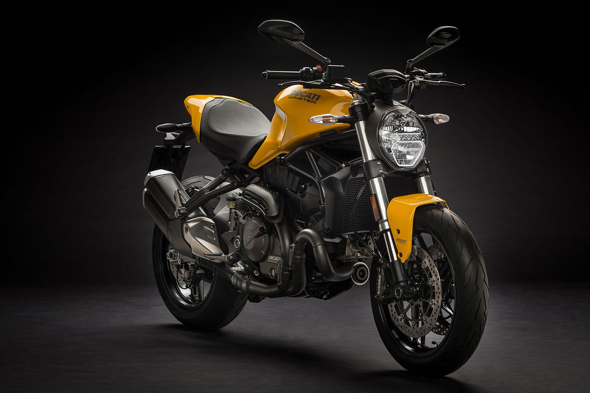 Ducati unveils the updated monster 821