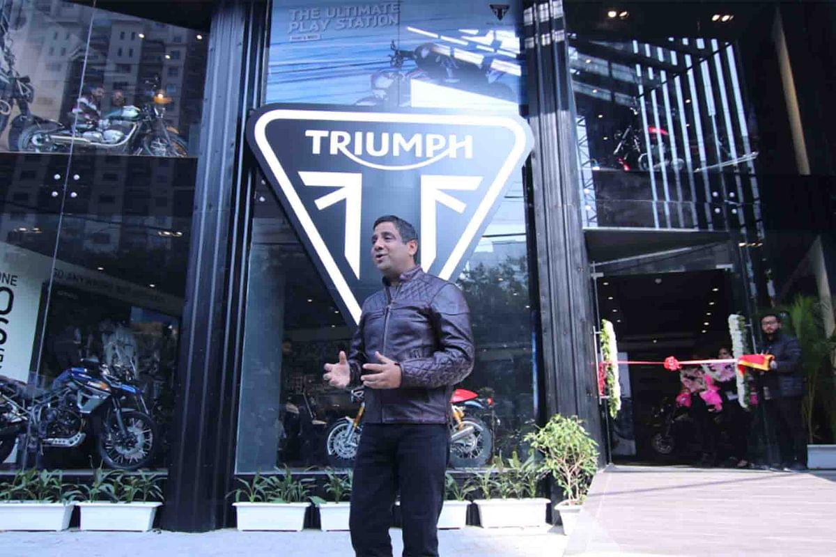 Triumph launches new dealership in Gurugram, Haryana