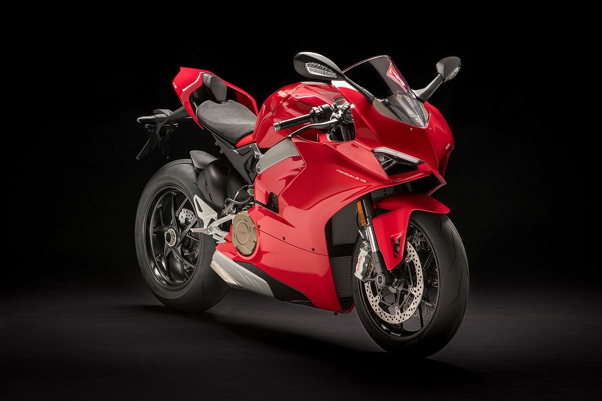 Ducati launches the Panigale V4
