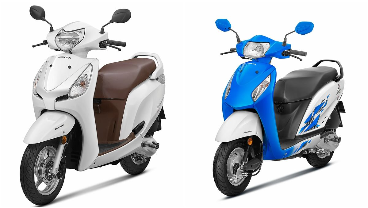 Honda has launched new 2018 versions of Aviator and Activa i