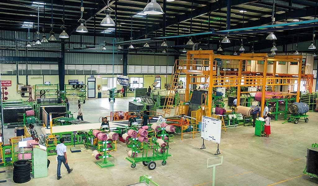 TVS Tyres Factory Visit