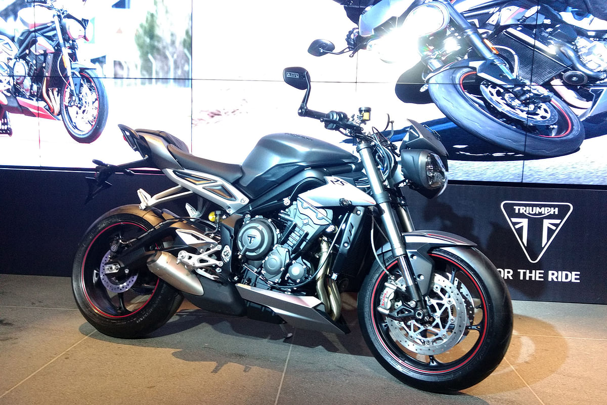 Triumph launch the Street Triple RS for Rs. 10.55 lakh