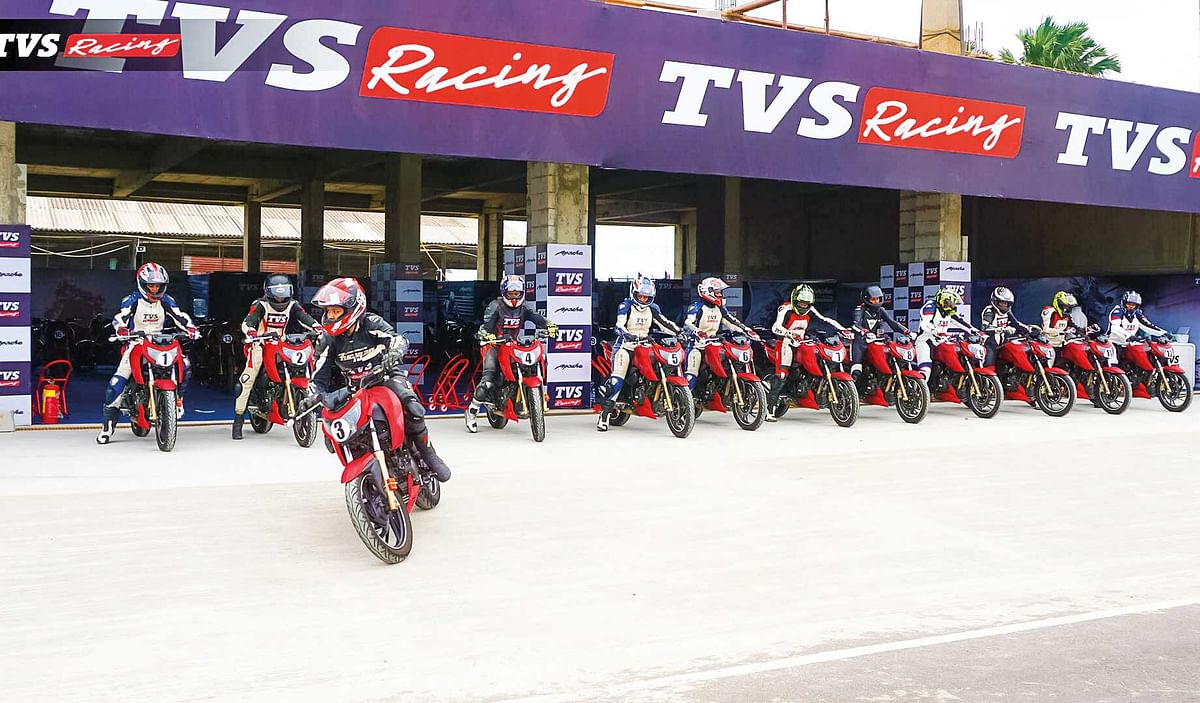 TVS Racing Diaries: Its all about girl power