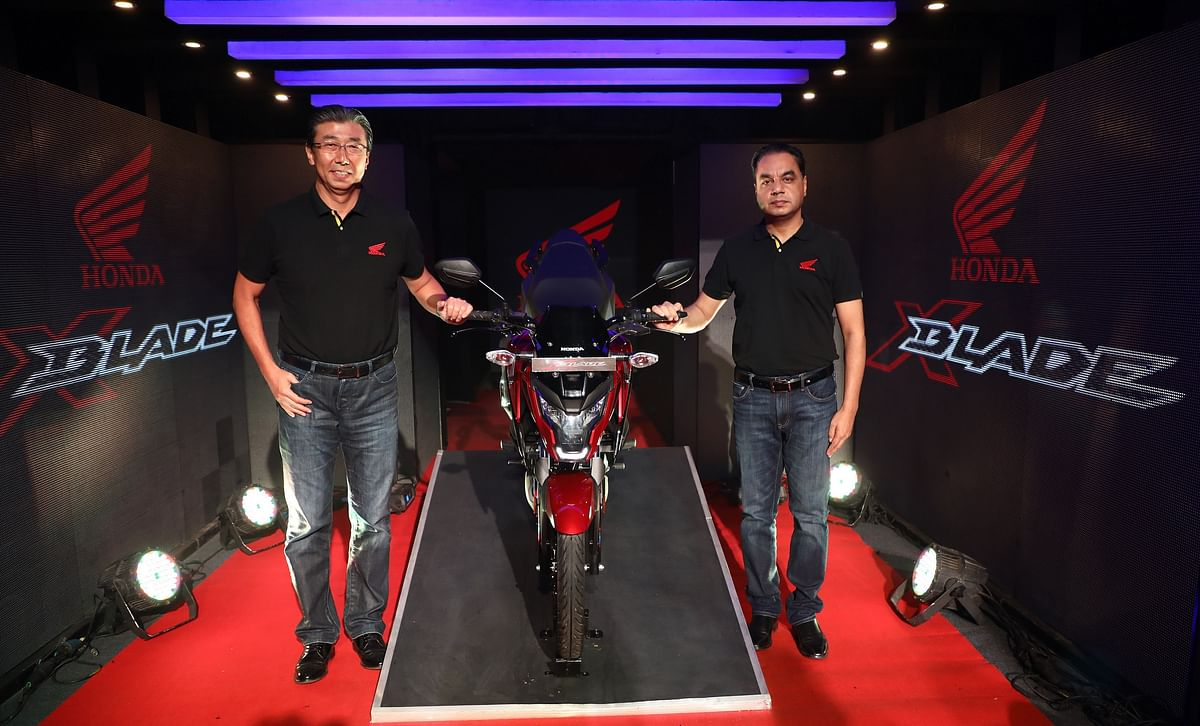 Honda launches X-Blade with ABS