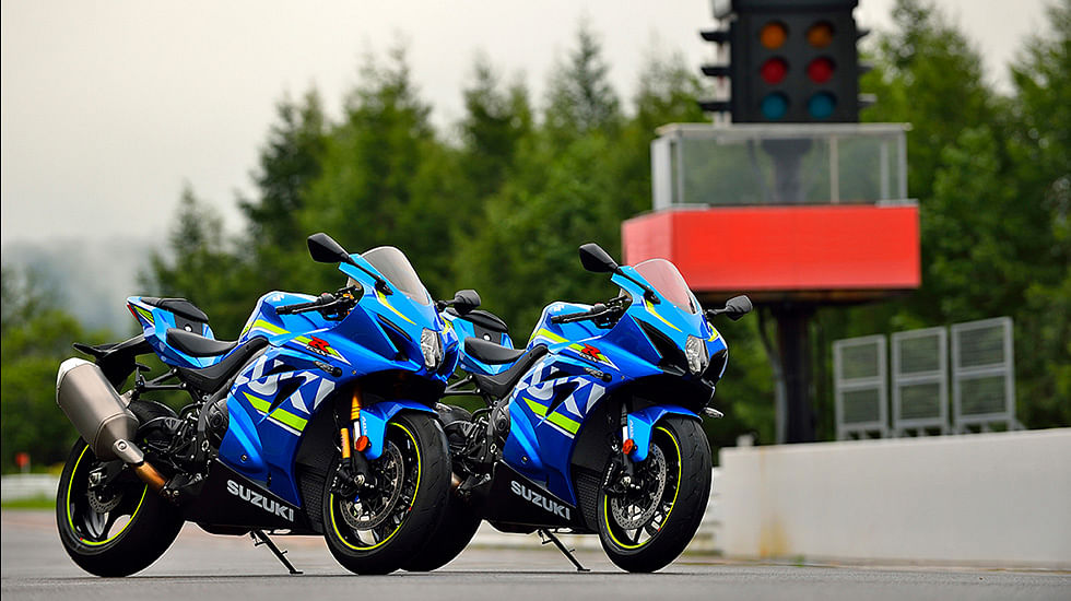 Suzuki launched the 2017 Gixxer GSX-R1000 and GSX-R1000R models in India
