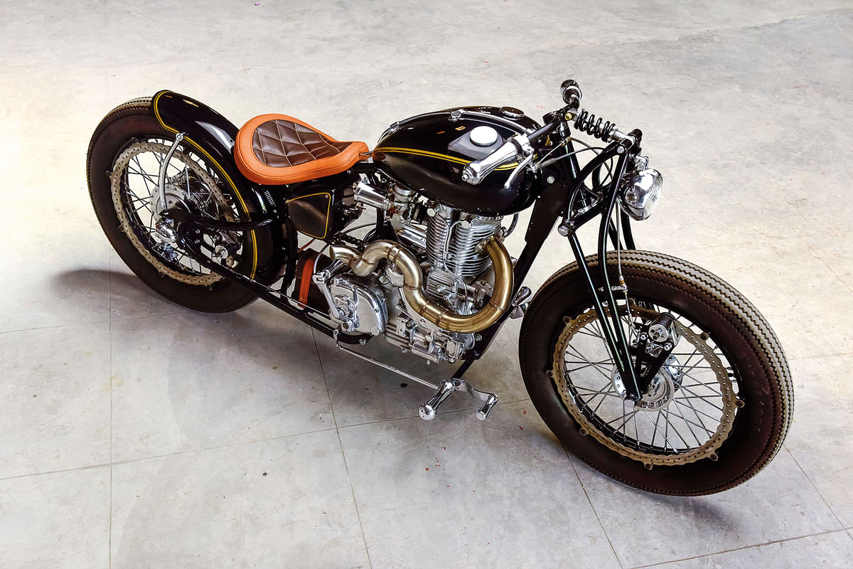 Baroda Bobber: Taking homegrown customisation to a new level