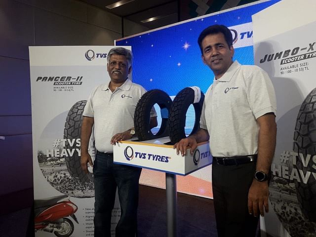 TVS TYRES launches new tyre patterns for scooters