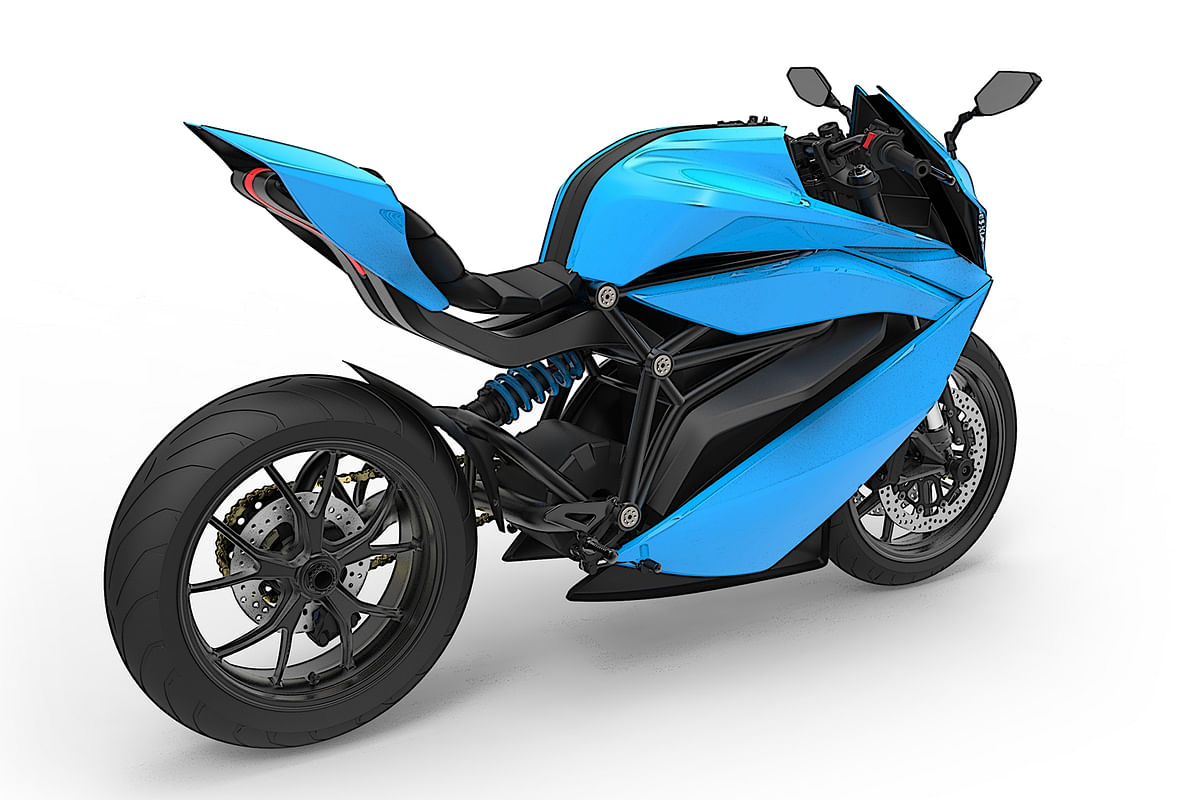 Bangalore-based startup working on an electric sportbike