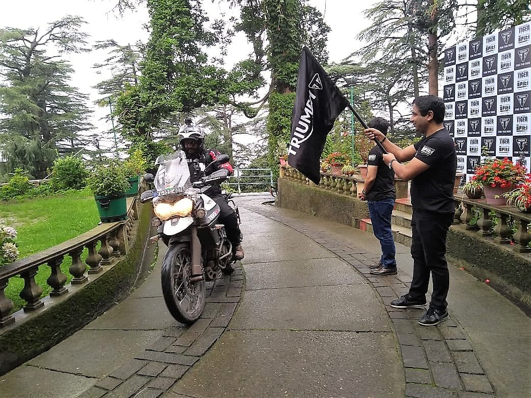 Triumph flags off second edition of Tiger Trails to Spiti