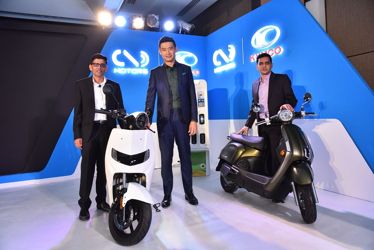 Twenty Two Motors partners with KYMCO to launch electric scooters in India