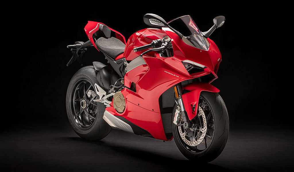 Ducati Panigale V4 to feature in Ride 3