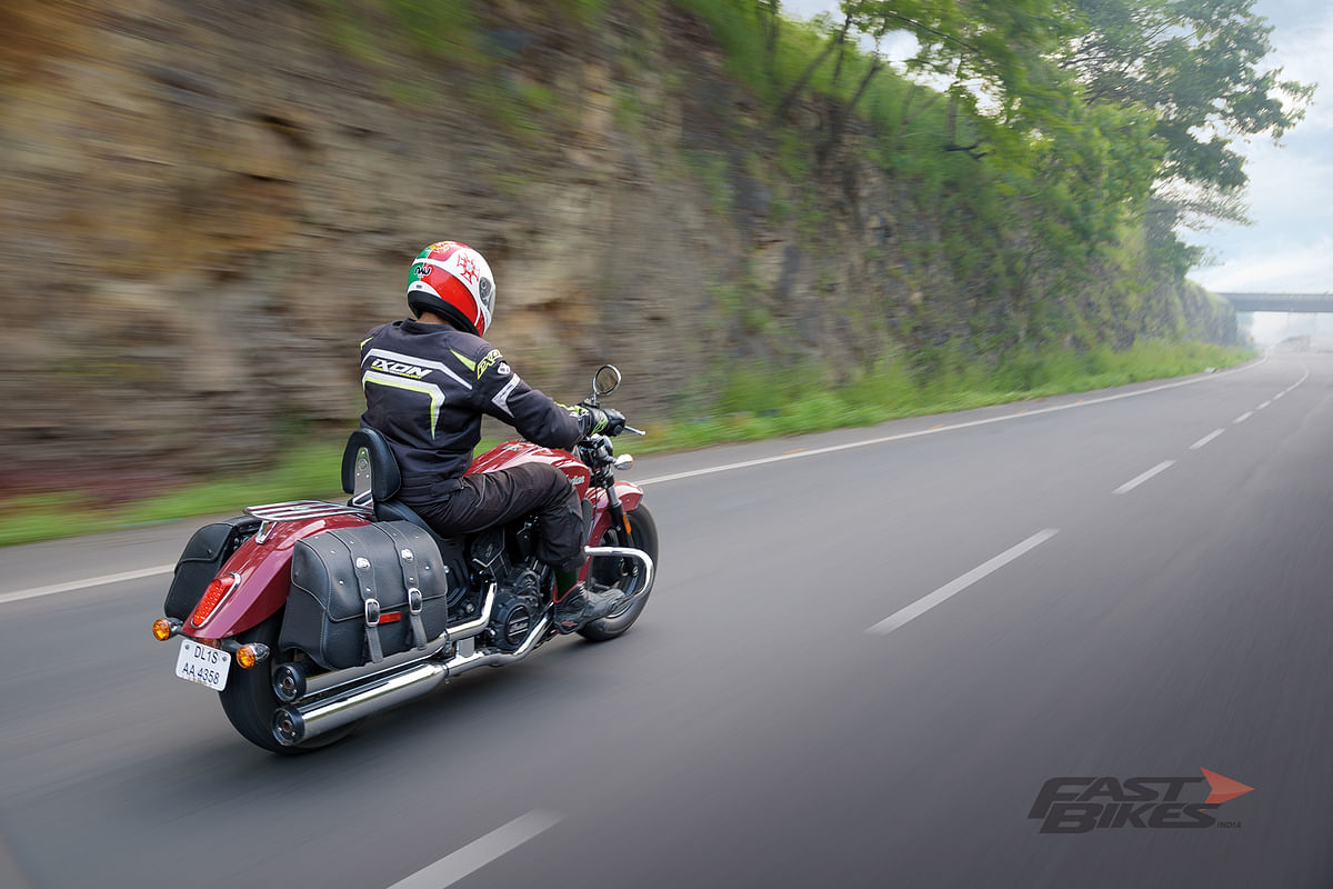 Indian Scout Sixty: A refined cruiser that handles too!