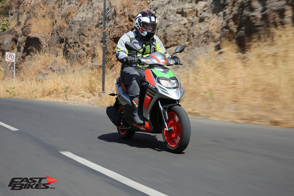 Aprilia SR 150 Race – First impressions