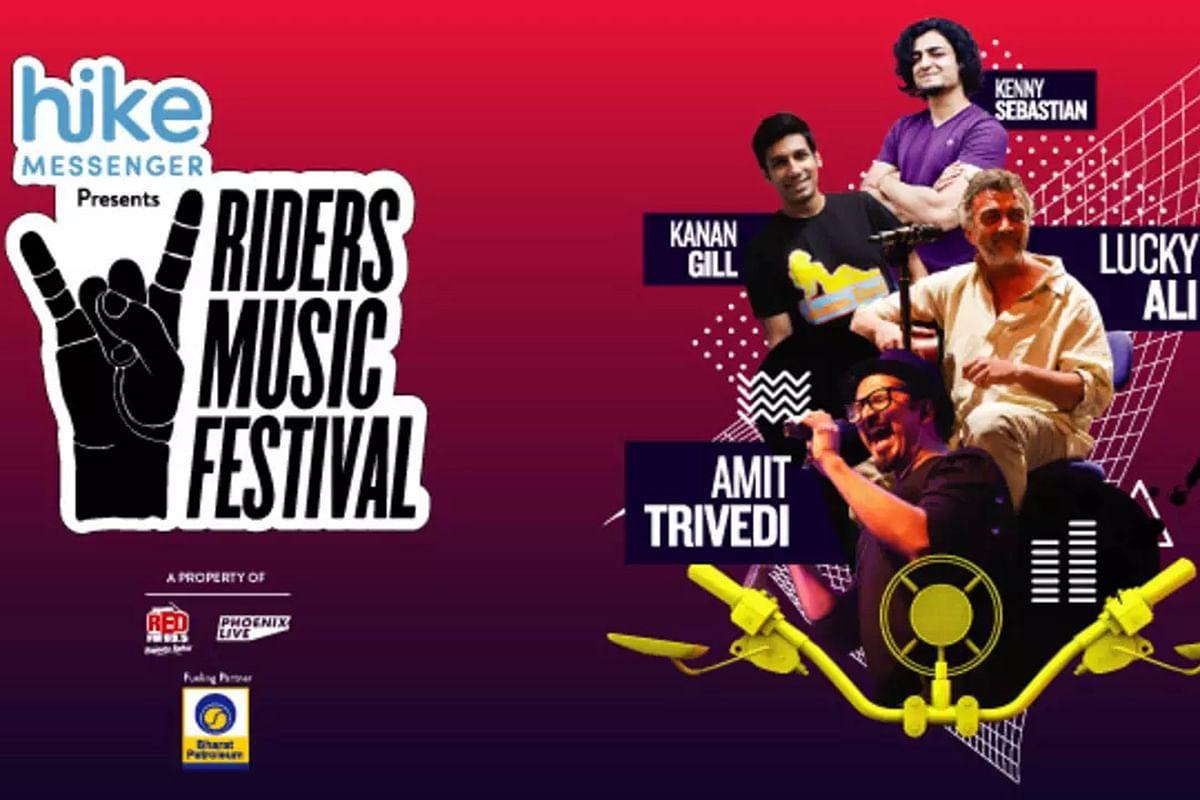 Riders Music Festival held in Nehru Stadium, New Delhi