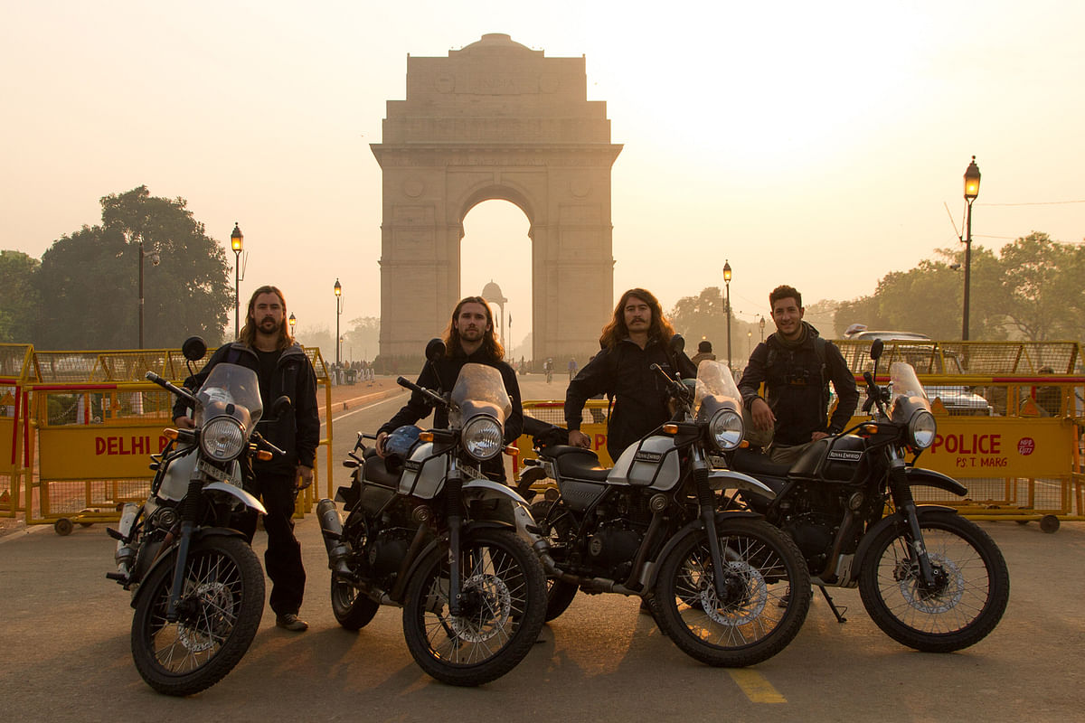 Four Aussies to #RideForRights of children in India
