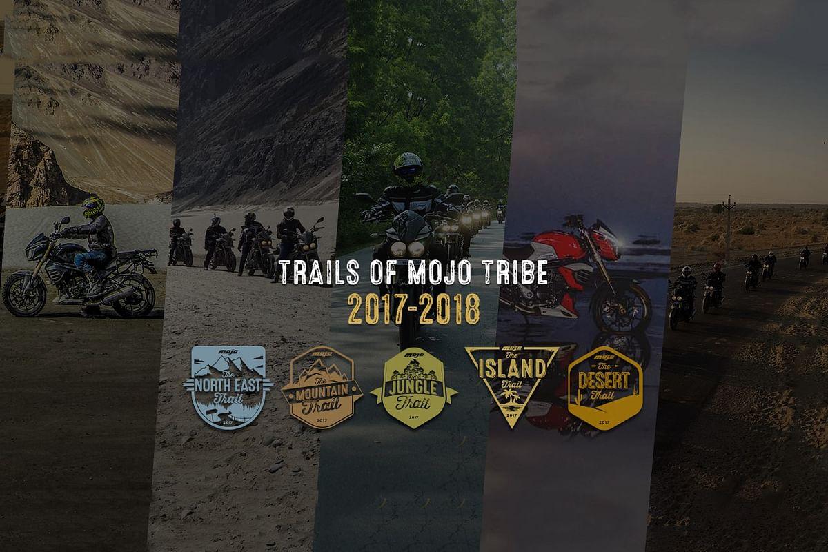 Get ready for 2017-18 calendar of Mojo Trails