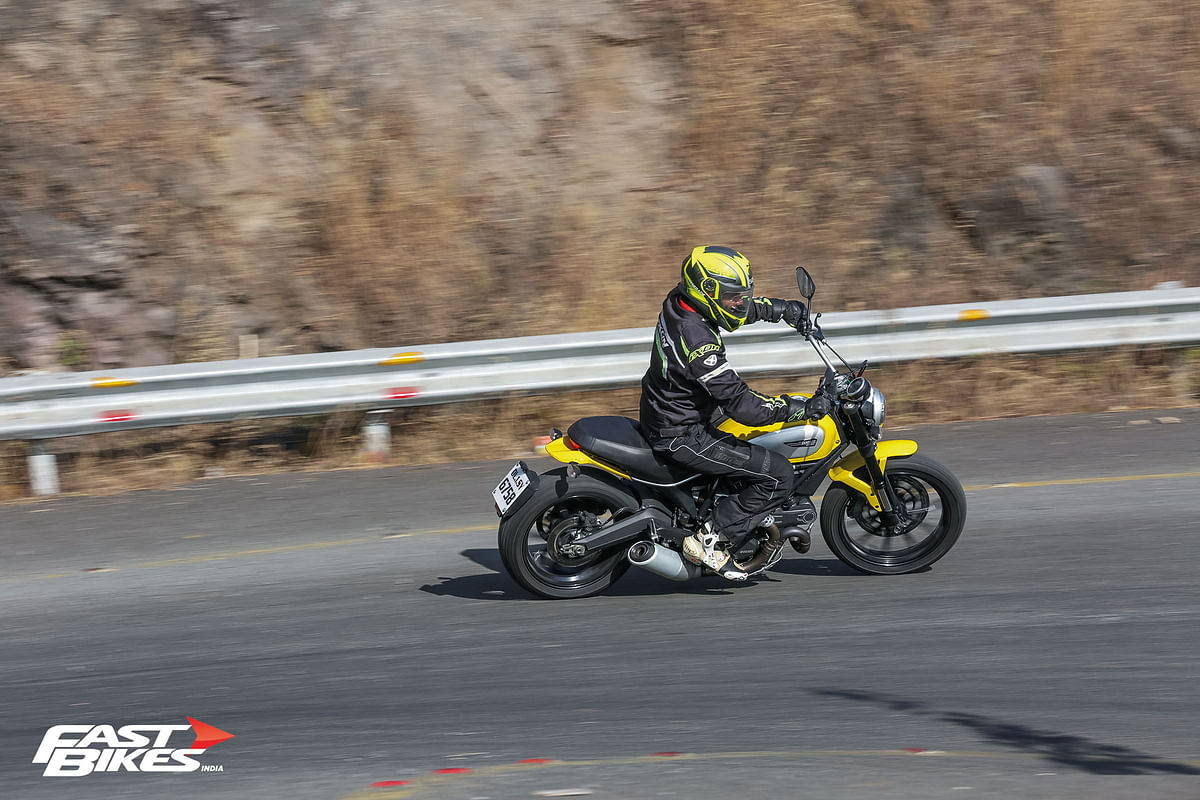 Ducati says the new Scrambler is what the old bike would have evolved into if it hadn't been discontinued at all