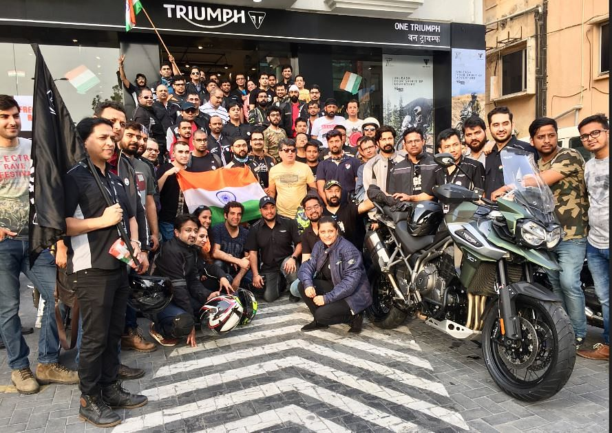 Triumph Freedom Ride to support girl child education in India