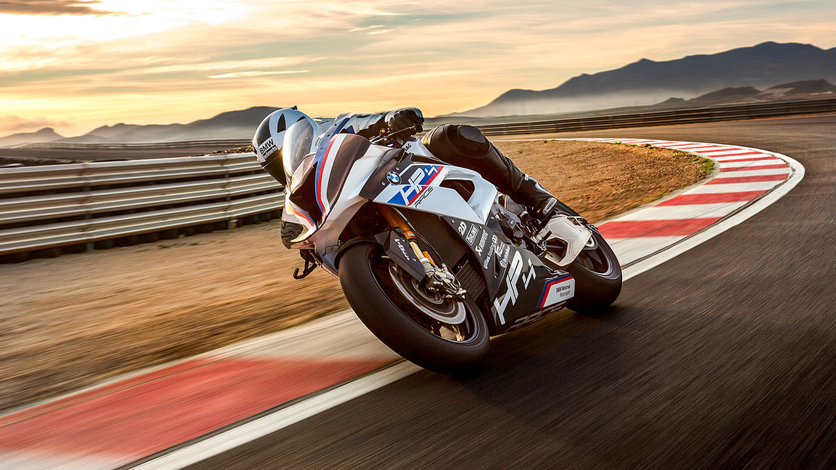 BMW Motorrad has launched the HP4 RACE in India at Rs 85 lakh