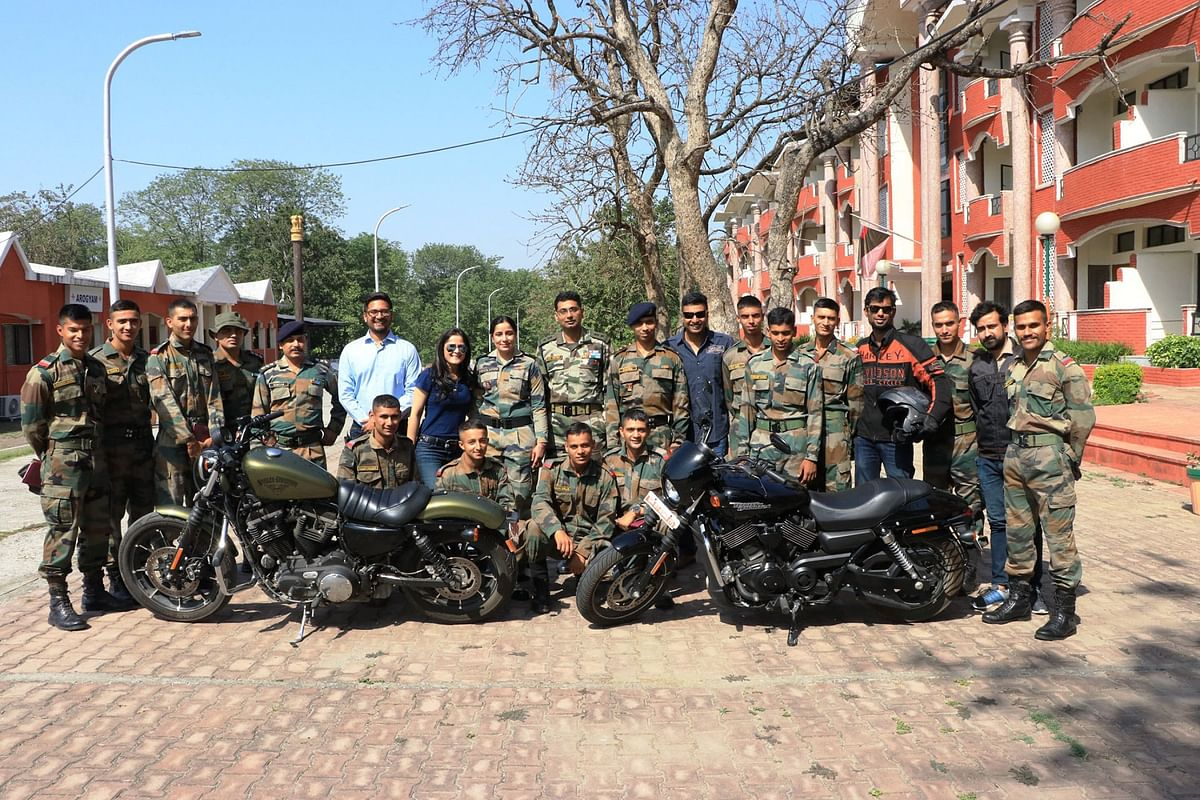 Harley gives the Indian Military Academy a Passport to Freedom
