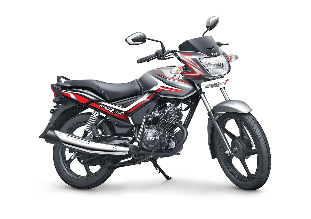 TVS Star City+ gets combined braking tech and dual tone scheme