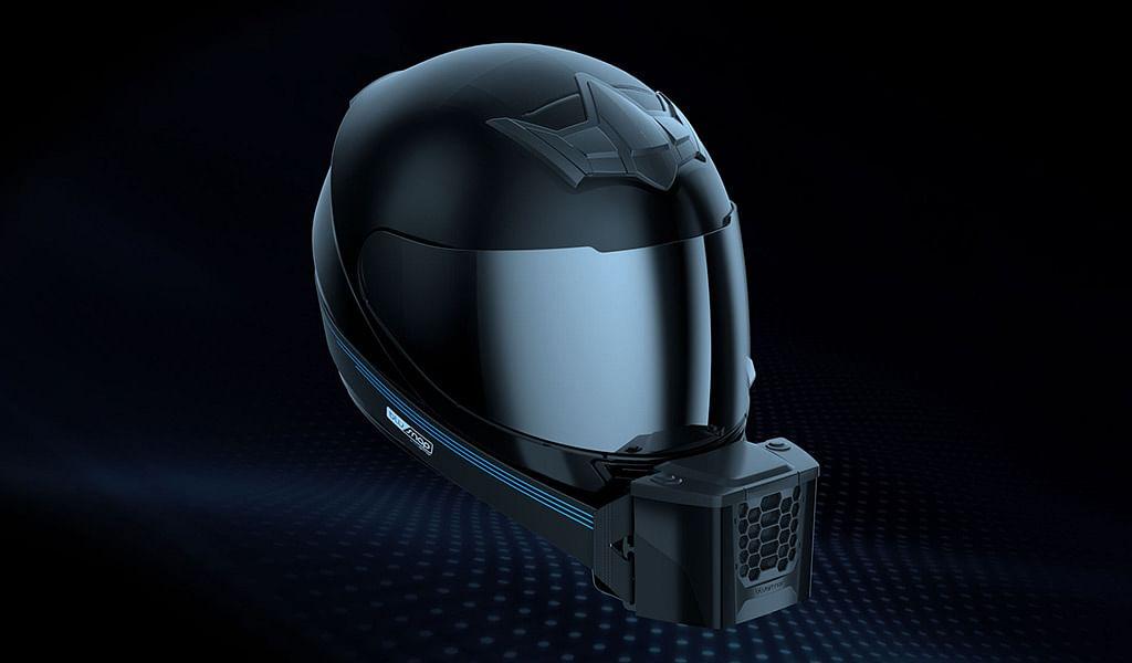 Bengaluru based start-up AptEner Mechatronics introduces helmet cooler