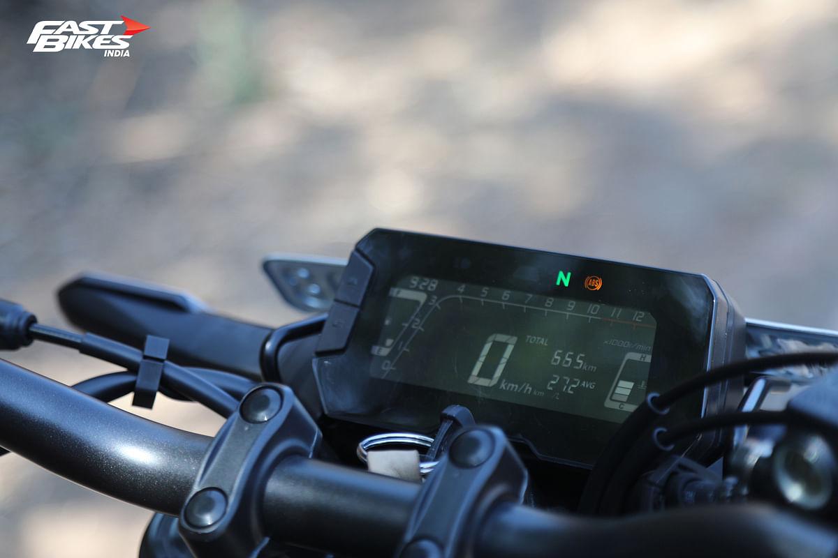 Honda CB300R console