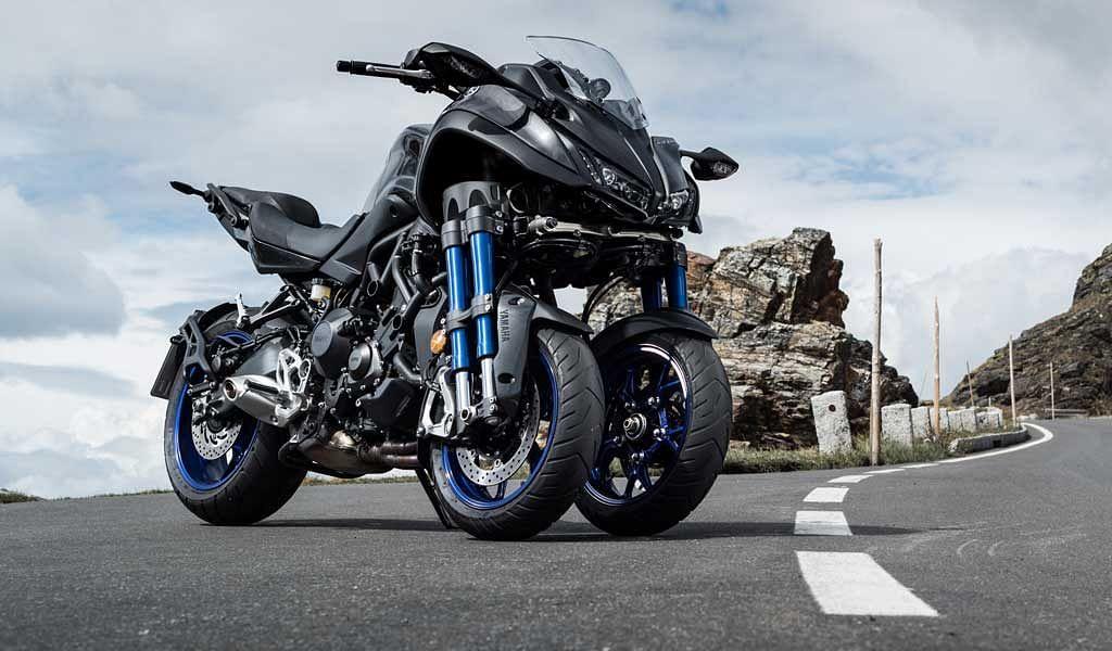 Test ride review: Yamaha NIKEN, the three-wheeled scorpion