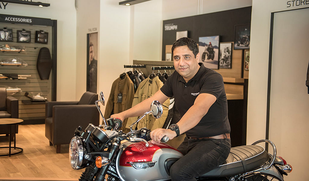 Triumph Motorcycles India opens its new dealership in Mangalore