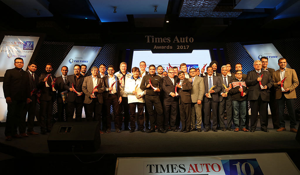 Times Auto Awards 2017 winners announced