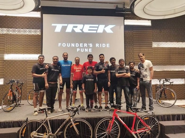Trek Bicycle launches in Pune with Trek Founder's ride