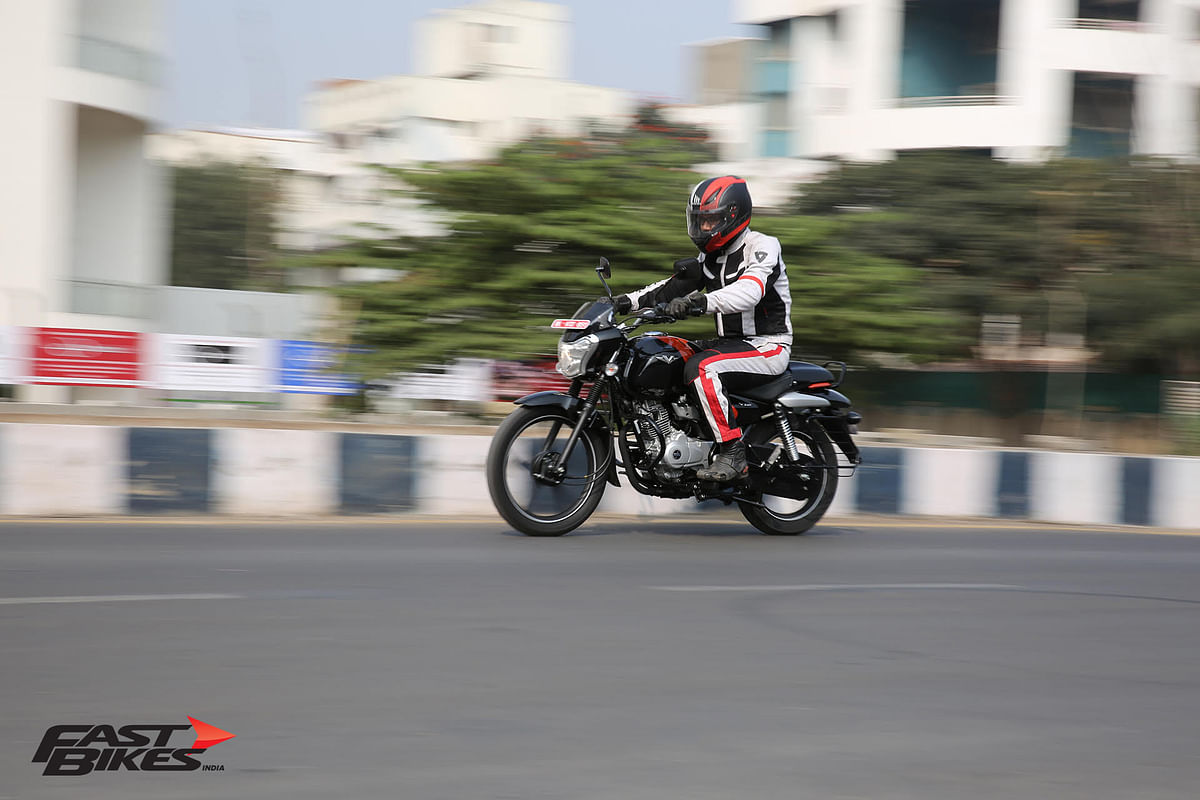 Bajaj V12 ridden