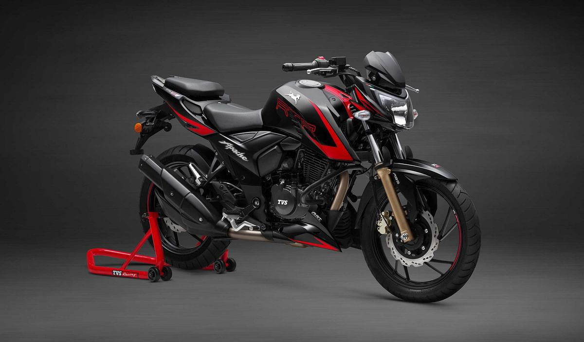 TVS launches new Apache RTR 200 4V