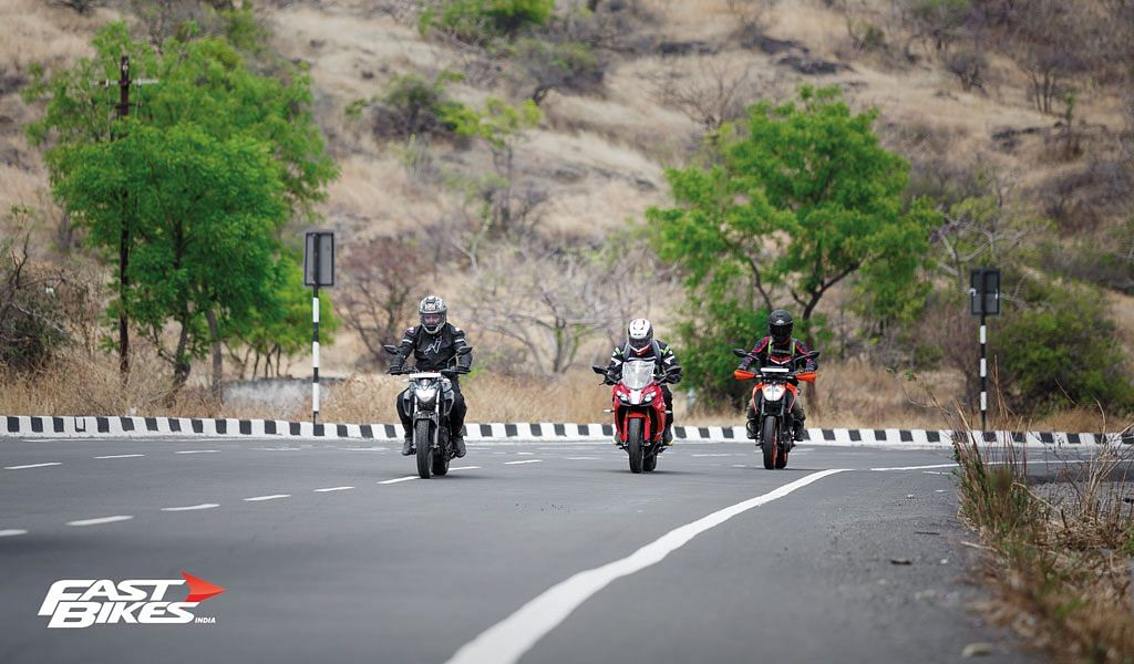 Inappropriate touring: 3 unlikely tourers – TVS Apache RR 310, KTM 390 Duke and Yamaha FZ 25 go touring