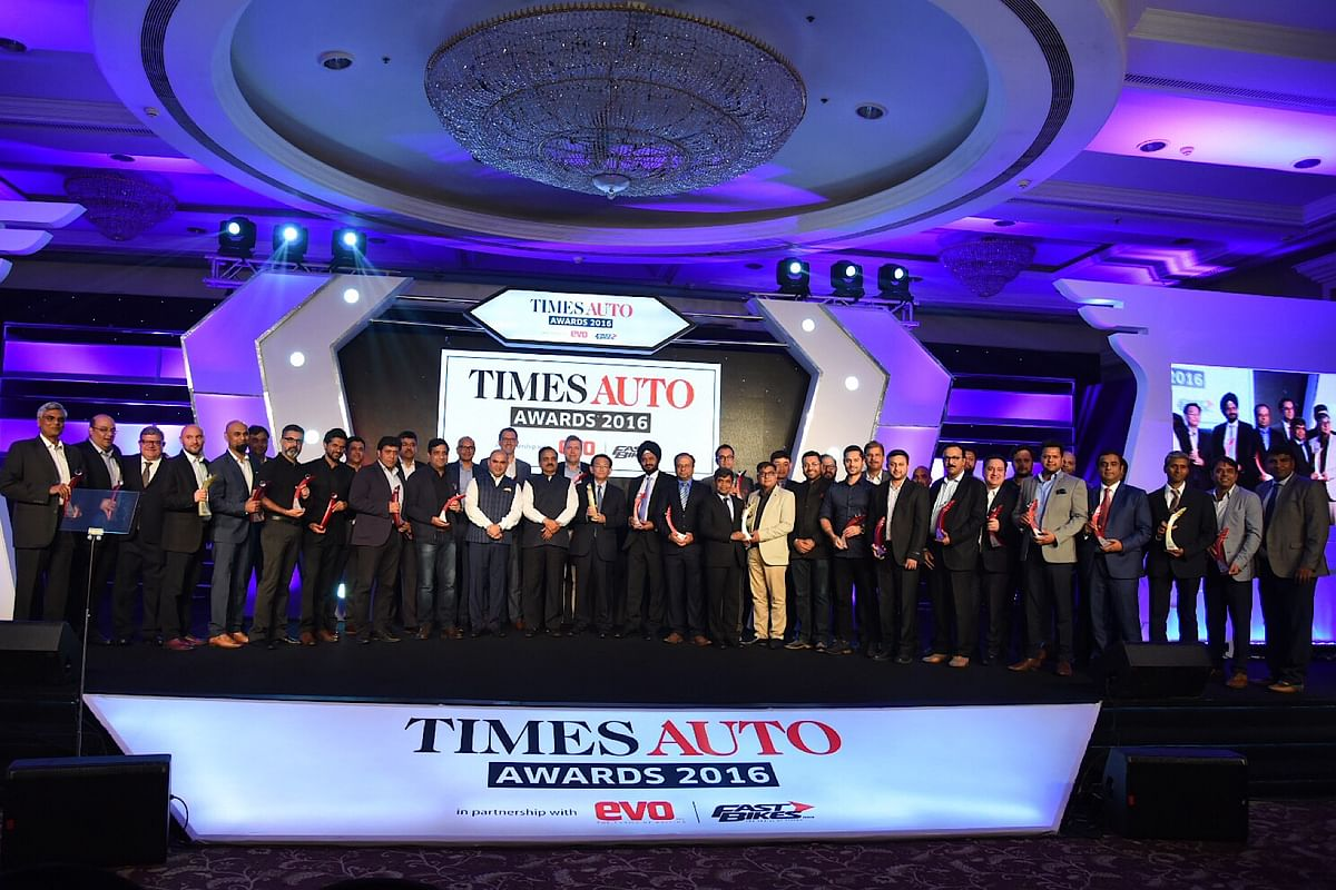 Winners of Times Auto Awards 2016