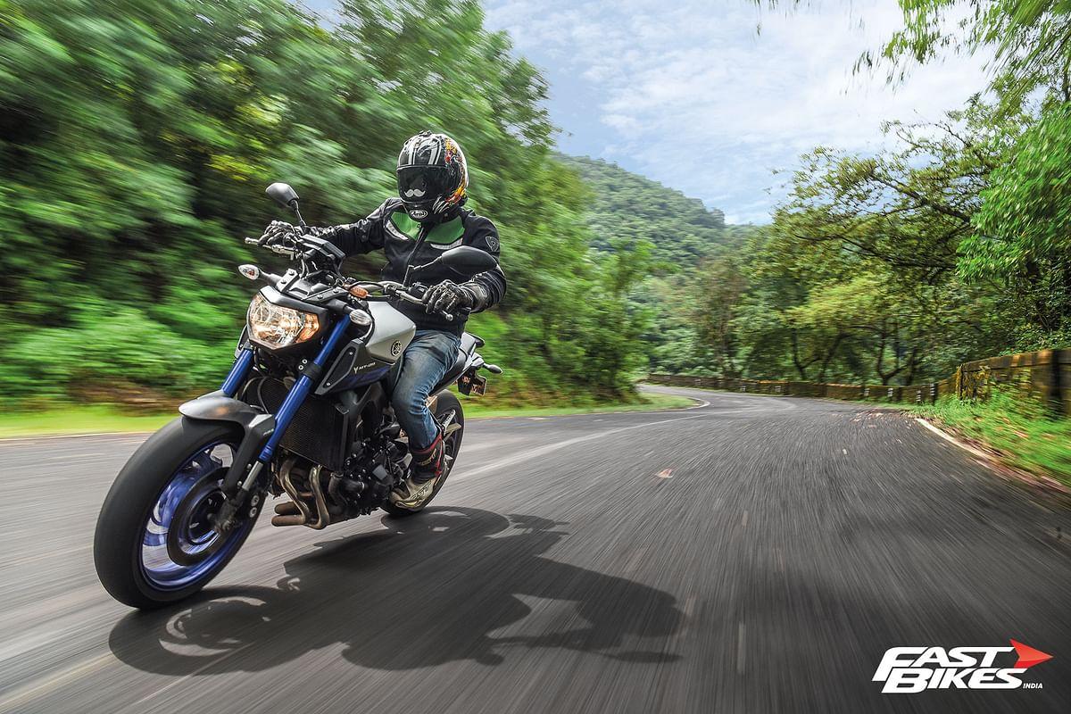 2015 Yamaha MT-09 ridden