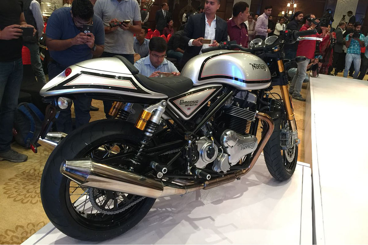 Corrigendum: Error in reportage regarding joint venture between Kinetic Engineering and Norton Motorcycles
