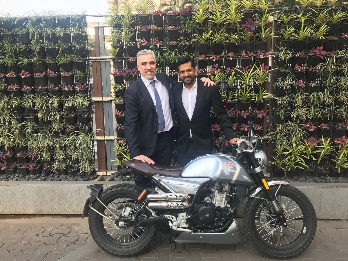 Interview with Cesare Galli, CEO, FB Mondial and Ajinkya Firodia, MD, Motoroyale